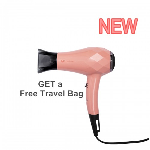 Zuanzhuan Mini Travel Dryer, Coral