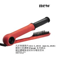 Zuanzhuan Limited Edition Óscar Blowout Revolving Styler 27mm Joyful Red